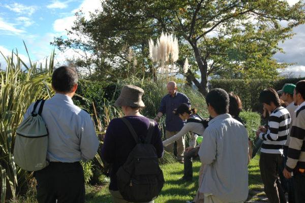Post-graduate students in Japan.